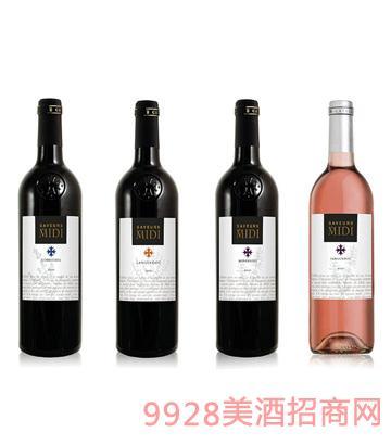 味觉狂风系列葡萄酒