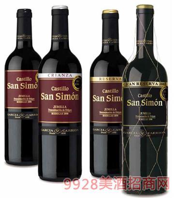西班牙加西亚酒庄葡萄酒