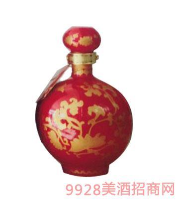20号十斤梅瓶红双龙坛酒