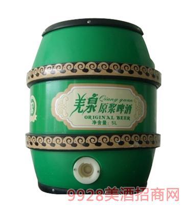 羌泉原浆啤酒5L