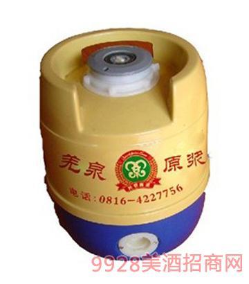羌泉原浆2L啤酒