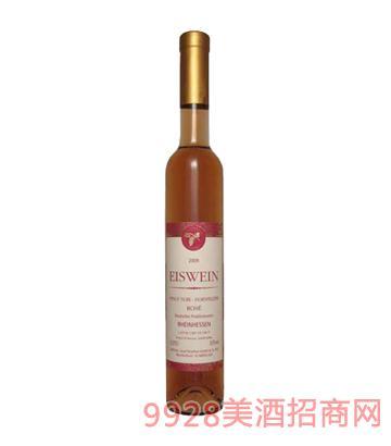 玫瑰红冰葡萄酒2009