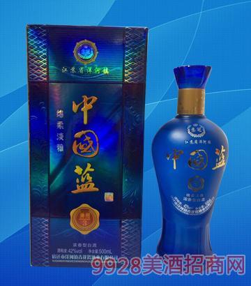 中国蓝酒神州3-42度500ml