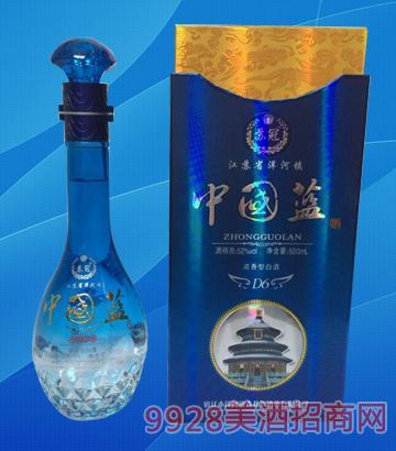 中国蓝酒D6-52度500ml