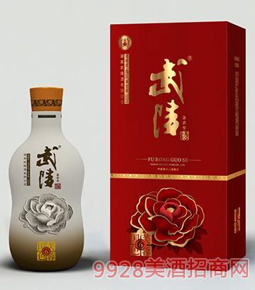 武陵酒芙蓉国色6年