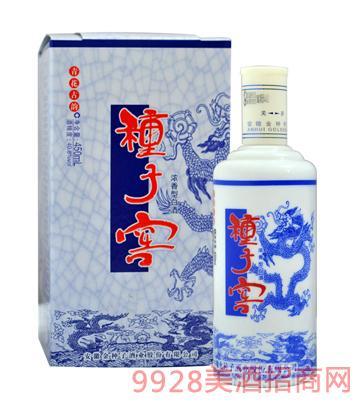 青花古韵种子窖酒