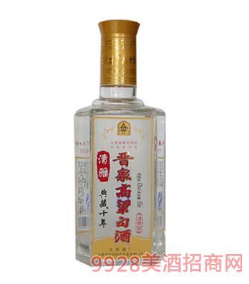 42°清雅晋泉高粱白酒(典藏十年)