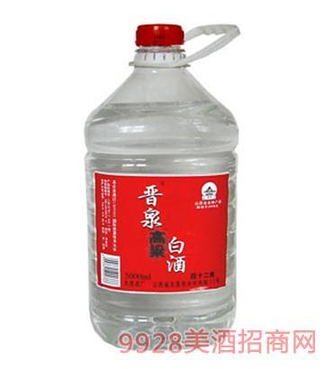 42°晋泉高粱白酒桶高(原浆)