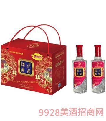 国花凤瓷酒(礼盒天绣)
