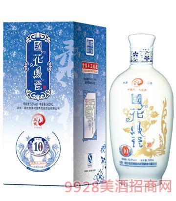 国花凤瓷酒原浆10