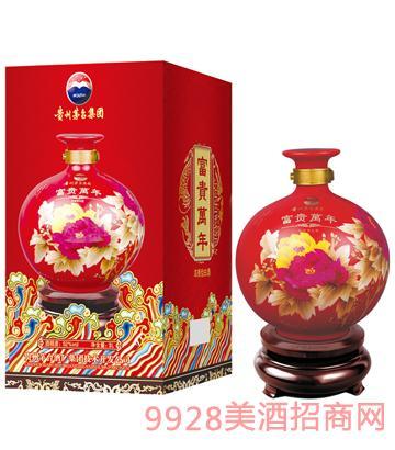 花开富贵(3L大花瓶)酒