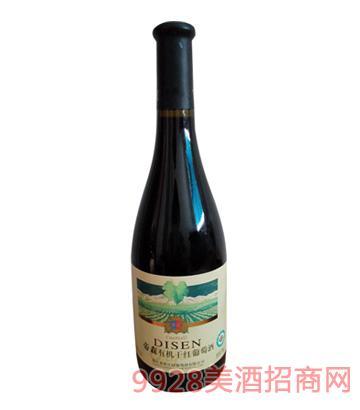 帝森有机干红葡萄酒