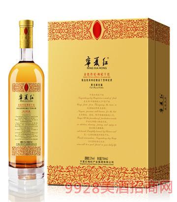 ��夏�t金色�麒蕉Y盒酒