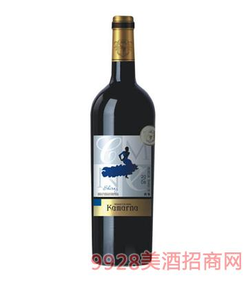 西拉干红葡萄酒2008
