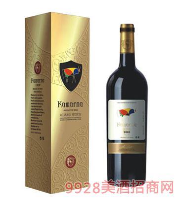 美乐干红葡萄酒2008