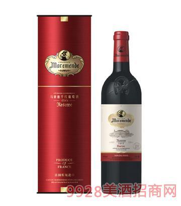 马蒙德男爵干红葡萄酒
