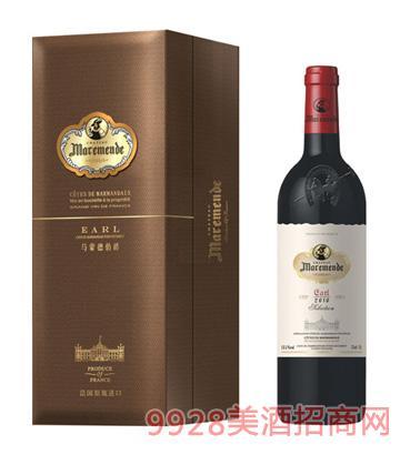 马蒙德伯爵干红葡萄酒