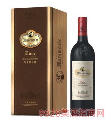 马蒙德公爵干红葡萄酒