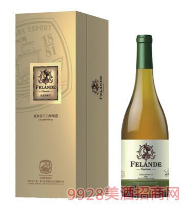 法蓝德船长霞多丽干白葡萄酒