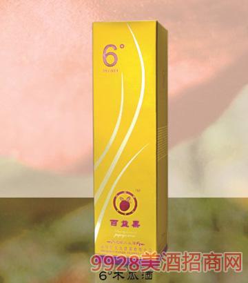 6°纯酿木瓜酒单支装卡盒