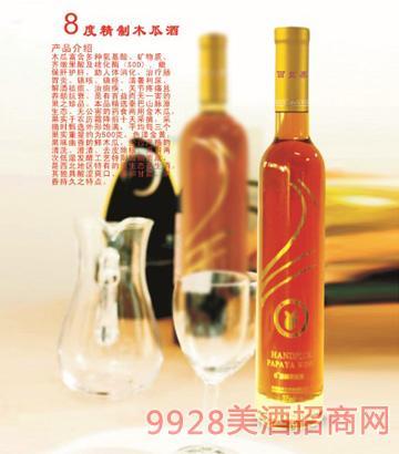 8°精制木瓜酒375ml