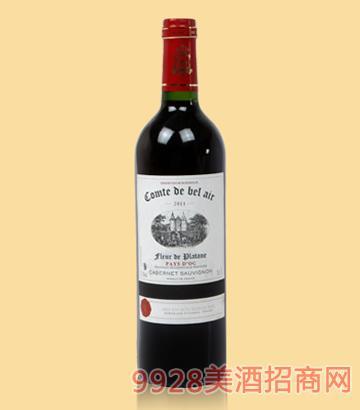 寶萊爾梧桐干紅葡萄酒GL9021