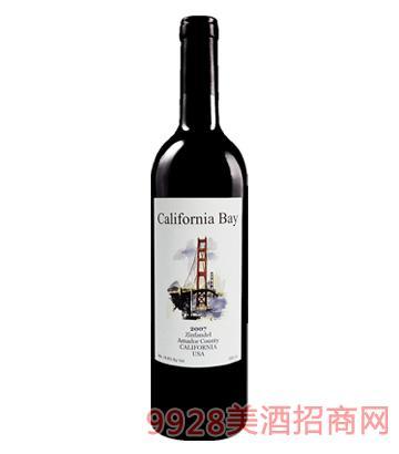 加州湾仙粉黛葡萄酒