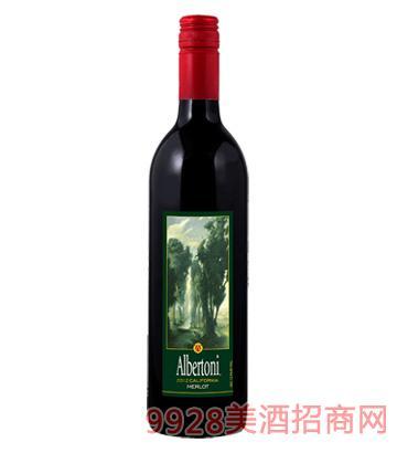 林荫大道梅乐葡萄酒