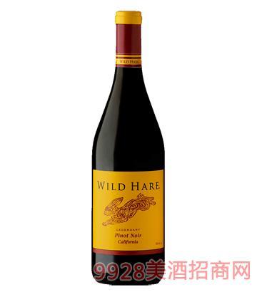 加州金兔黑皮诺葡萄酒