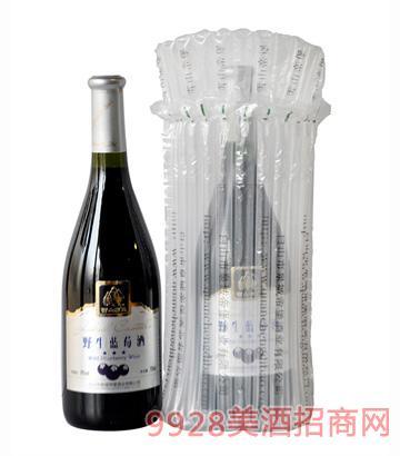 750ml野生蓝莓酒(充气包装)