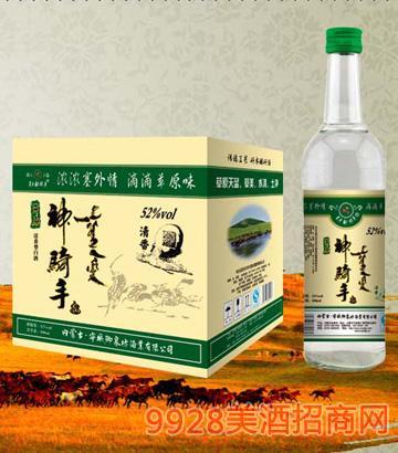 SQS049草原神骑手酒(清香)52度500mlx12清香型