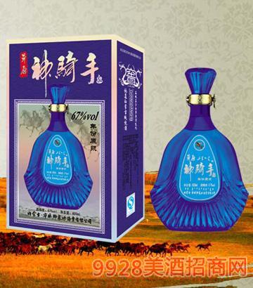 SQS044草原神骑手酒(年份原浆)67度600mlx6清香型