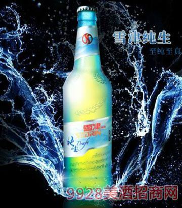 英博雪津啤酒纯生