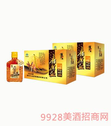 鹿茸血山蛇蛤蚧酒