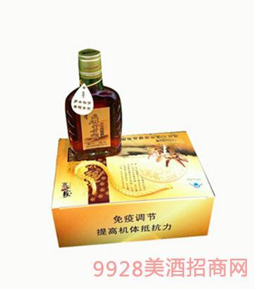 鹿茸血山蛇蛤蚧酒-125ml