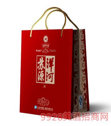 洋河苏源-红钻盒(手提袋)酒