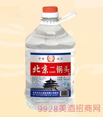 玄武门北京二锅头5L桶装酒