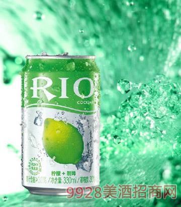 RIO 锐澳罐装柠檬味预调鸡尾酒330ML