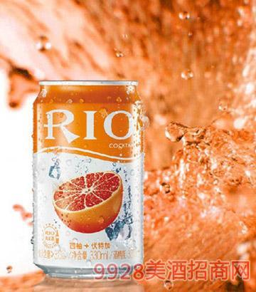 RIO 锐澳罐装西柚味预调鸡尾酒330ML