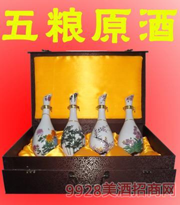 精装五粮原酒梅兰竹菊