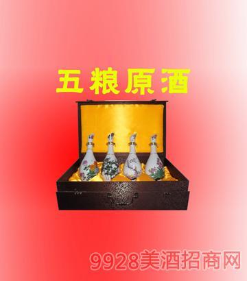 精装五粮原酒梅兰竹菊500ml