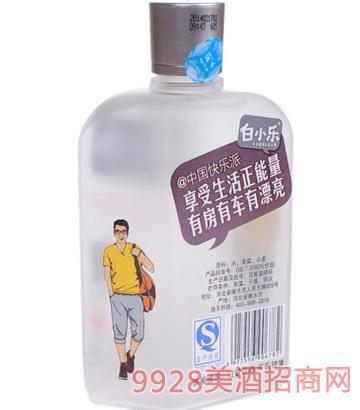 老白干白小乐38.6度150ml 紫色酒