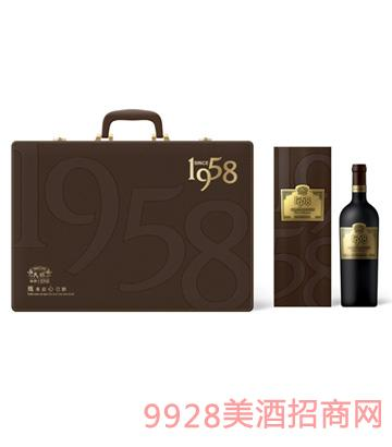 1958四支礼葡萄酒
