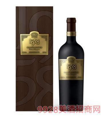 民权1958赤霞珠干红葡萄酒