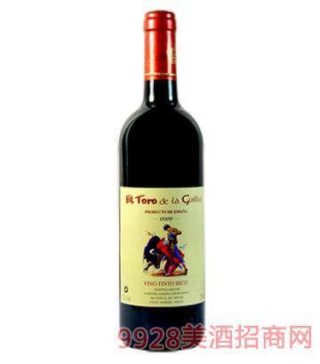 吉洛斗牛士红葡萄酒2009