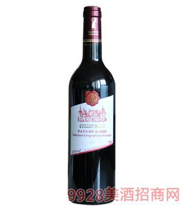 法国吉洛玛丽红葡萄酒