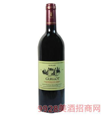 法国吉洛西拉红葡萄酒2001