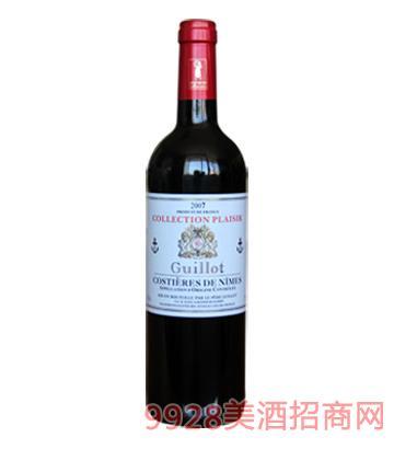 法国吉洛珍藏版干红葡萄酒2009