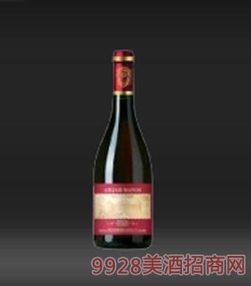 喜庆大肚葡萄酒