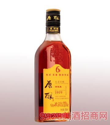 350ml原酿金标六年陈绍兴酒